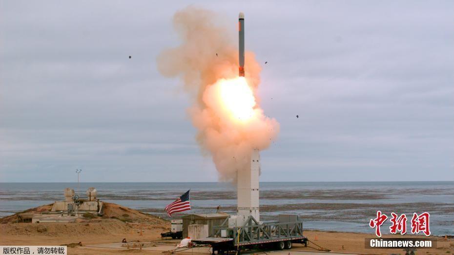 美国试射新陆基中程导弹