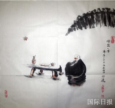 著名畫家黃建南受聘美國比弗利藝術基金會高級藝術顧問