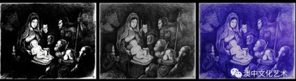 滕飞:耶稣诞生图